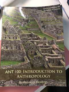 ANT100: Introduction to Anthropology (Archaeology Readings)