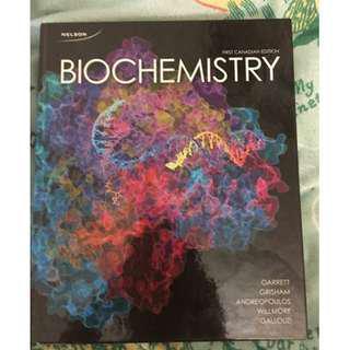 Biochemistry 1st Canadian Ed. - Garrett