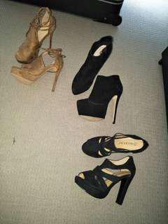 BRAND NEW size 7 high heels $10 per pair!
