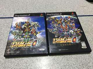 PS2 Games 機戰alpha 第二次 第三次