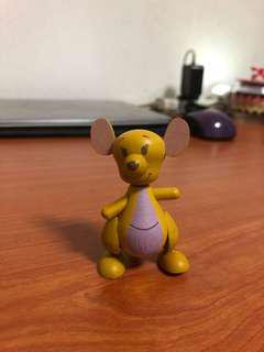 7-11 kangaroo wooden figurine collectibles