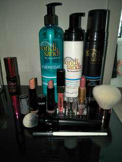 Makeup and tan bundle $20!!!!!