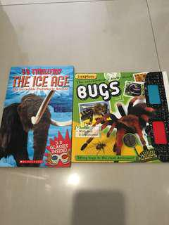 Educational books from science centre