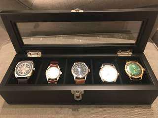 全新錶盒(5隻)