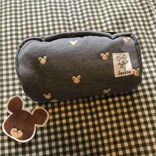 The Bears' School Pouch/化妝袋 灰