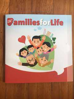 🚚 Families for Life- Nets flash pay, EZ-Link cards - set of 4