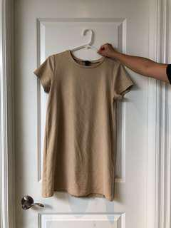 *RESERVED* Forever 21 Suede T-Shirt Dress