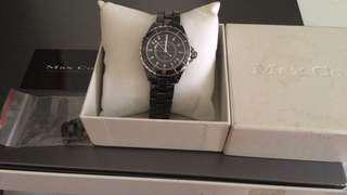 Max.co專櫃陶瓷鑽錶