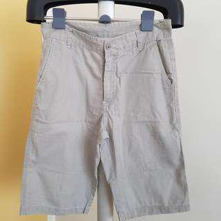 H&M shorts pinstripe gray