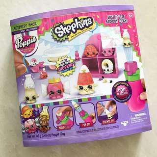 BNIB Shopkins S2 Candy Collection Activity Pack