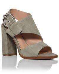 Tony Bianco DUMONT BLOCK HEEL WITH SILVER SIDE BUCKLE