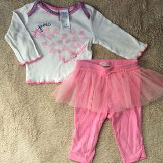 Baby clothes tutu set