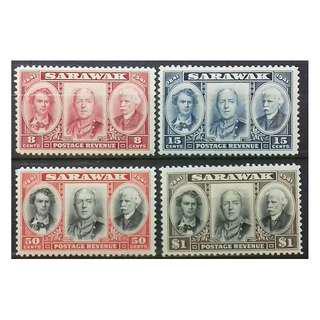 SARAWAK ( MALAYSIA ) 1946 THE CENTENARY SET SG 146 -SG 149 LMH OG (REF 6)