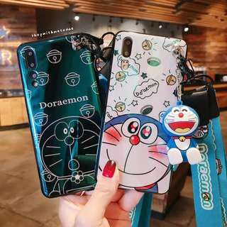 Holographic Doraemon Huawei P20 pro / Iphone X casing