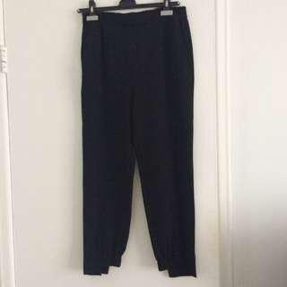 Zara Black Dress Pants, Size S