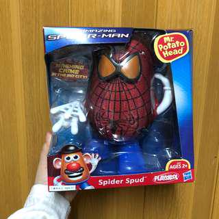 迪士尼 薯蛋頭先生 x 蜘蛛俠模型