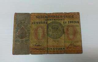 1 Een Gulden Indonesia