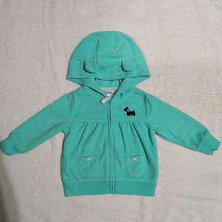 Carter's Green Fleece Jacket