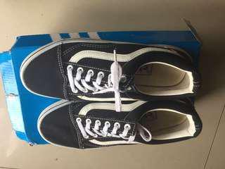 Vans Black White Shoe