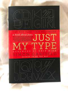 JUST MY TYPE (A BOOK ABOUT FONTS)