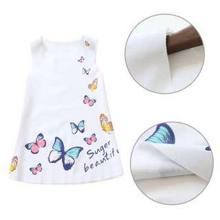 Sleeveless dress motif kupu2.