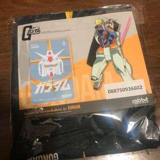 (已斷貨)全場最平 高達 Gundam 泰國 BTS卡 + Tee RX78