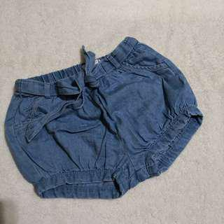 Cotton On Baby Denim Bloomers