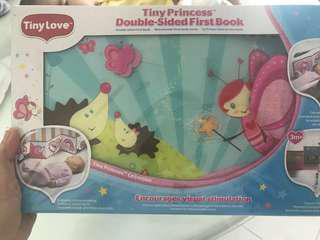 Tiny love double sided book
