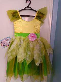 Thinker bell gown for kids