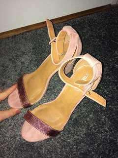 Ruby shoes pink glitter heels size 40