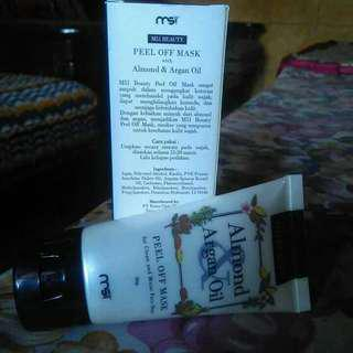 Masker Almond & Argan Oil