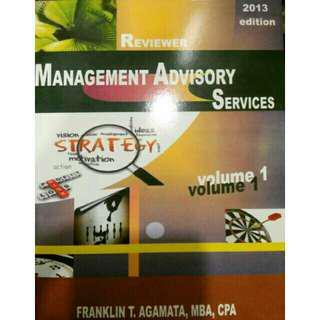 MAS Management Advisory Services Agamata 2013 ed Vol 1, 2