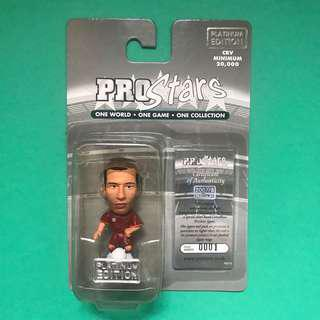 *Number 001* Ludovic Giuly AS Roma Series 38 Corinthian Prostars