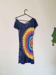 Rainbow Crochet Dress/Top