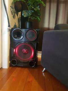 LG super power stereo. Bluetooth, USB,MP3