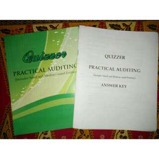 Practical Accounting Quizzer CPA Examination Reviewer