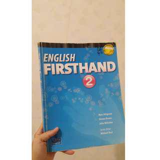 English Firsthand 2  #換你當學霸