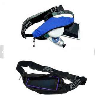 Set of 2 of Versatile Mini Sports Waist Bag