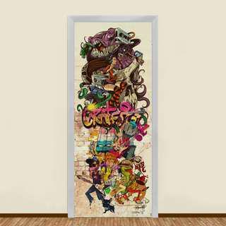 🚚 STREET GRAFFITI COMPILATION 1 RESIDENTIAL DOOR ART