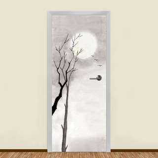 🚚 WHITE WINTER SUN RESIDENTIAL DOOR ART