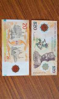 40 Years Commemorative Brunei-Singapore Notes