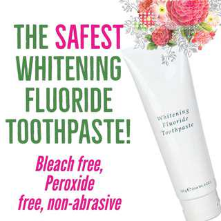 Whitening Toothpaste Thats Safe For Kids