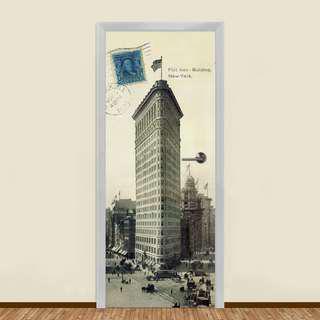 🚚 1909 OLD AMERICA RESIDENTIAL DOOR ART