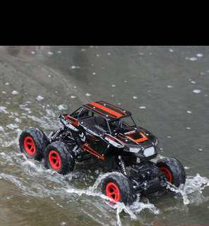 (P.O.)1/14 RC Car 6WD 2.4Ghz Remote Control High Speed Off Road Truck Vehicle Toys 6x6 RC Rock Crawler Buggy Climbing Car