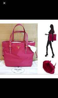 Brand new Prada pink bag