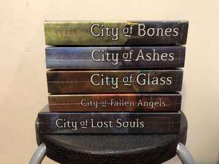 The Mortal Instruments Series (RM25 per book)