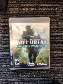 PS3 Call of duty4