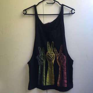 ~USED ONCE~ Supre Peace Singlet [#1]