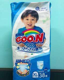 🚚 G.oon Japan Diaper size XL(38pcs)(tape)