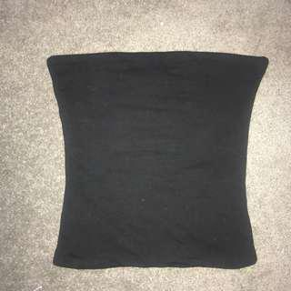 cotton on black boobtube size xs